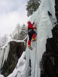 Escalando en Rjukan Noruega