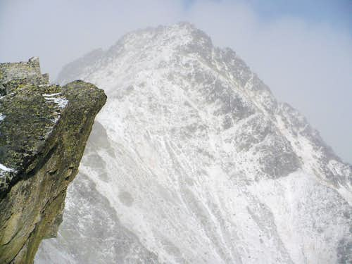 Mlynické Solisko (2301 m) awaits us