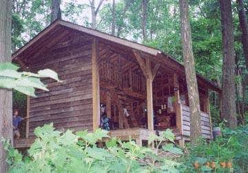 New Peters Mountain Shelter