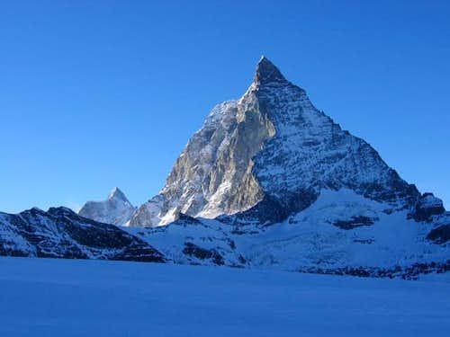 Dent d'Herens et Matterhorn