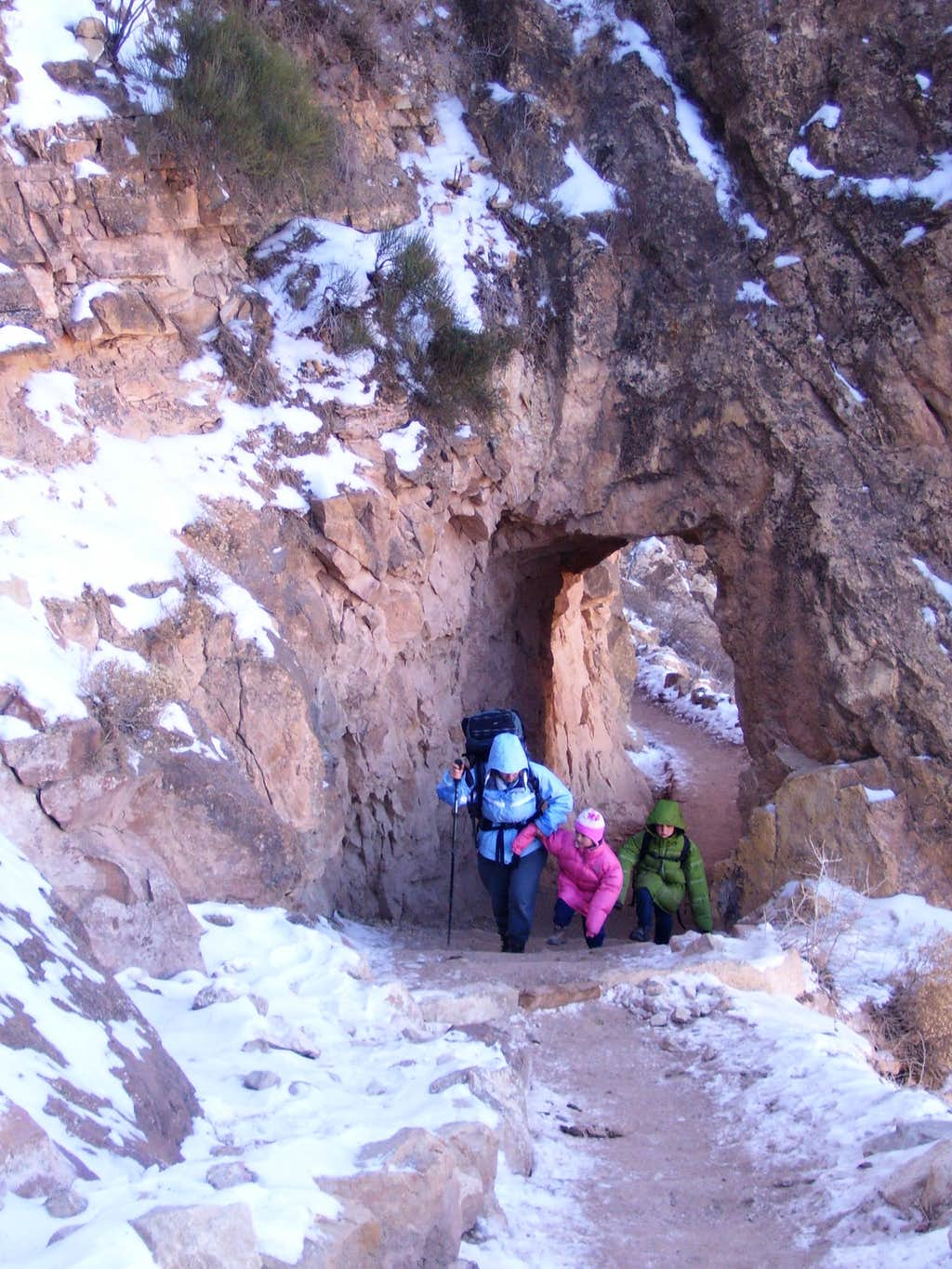 Upper section of Bright Angel Trail