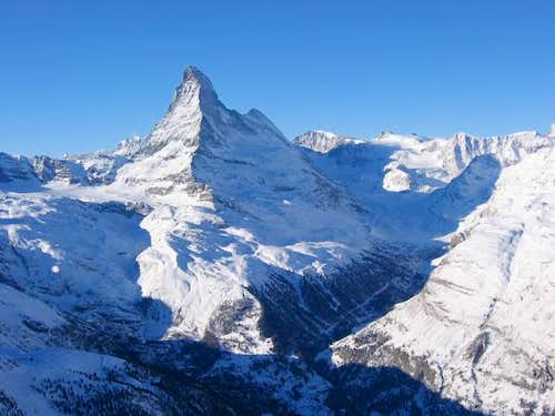 A new face of the Matterhorn...