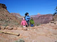 Grand Canyon:     Christmas 2007