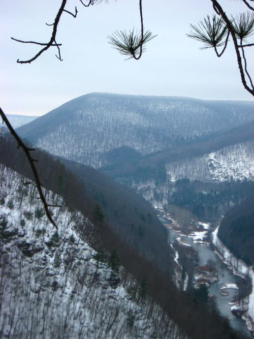 Mt Tom and Pine Creek Gorge