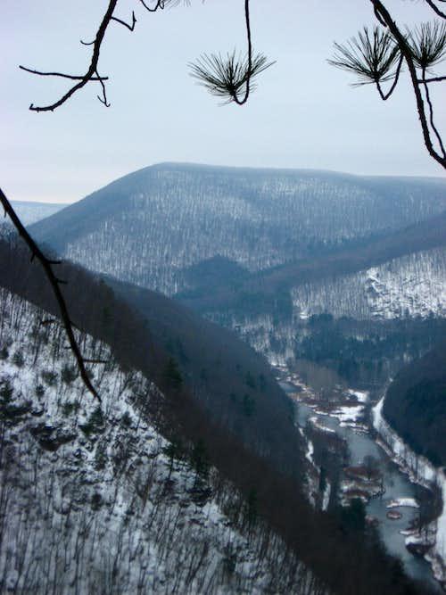 Mt Tom and Pine Creek Gorge