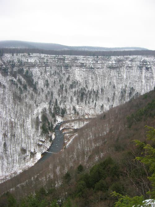 Owassee Rapids in the Pine Creek Gorge