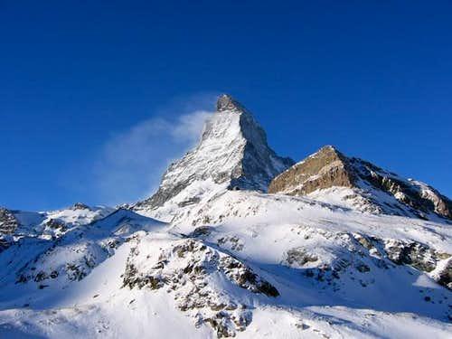 Le Matterhorn vu du Schwarzsee
