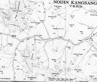 Map of Kaluxung and Noijin Kangsang