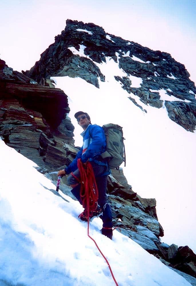 Punte Patrì first ascent...