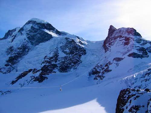 Breithorn et Klein Matterhorn