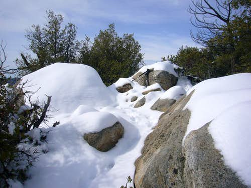 Summit Blocks of Lion Peak