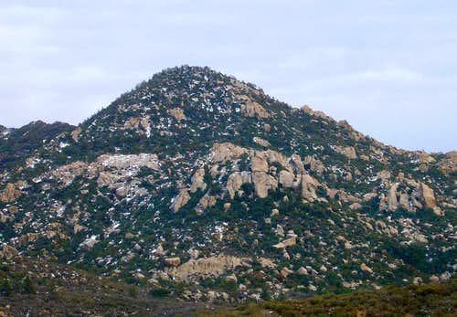 Lion Peak (Desert Divide)