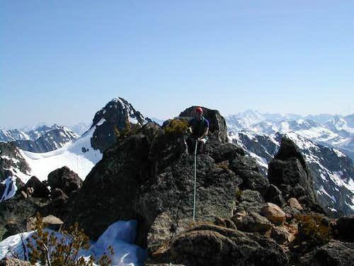 Marcus near summit