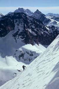 Climbing to Brecha de Latour...