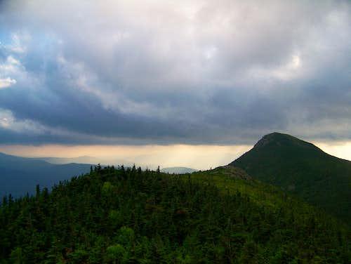 Storm Behind West peak- Mt. Bigelow