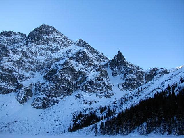 High Tatra view