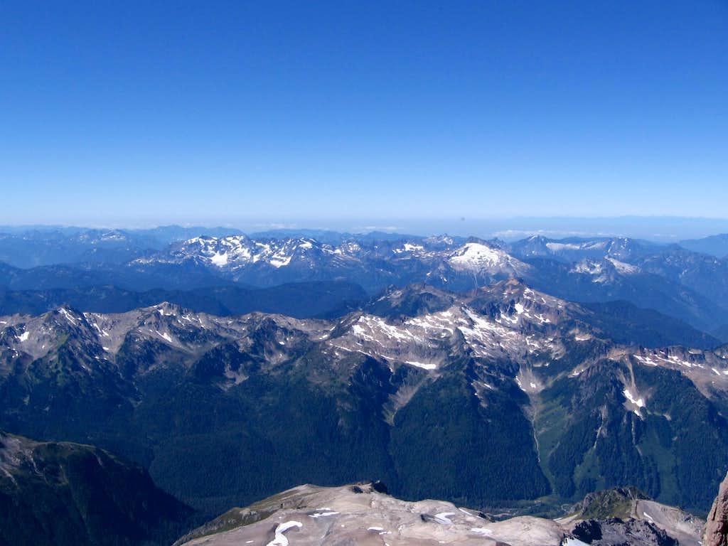 Glacier Peak view southwest