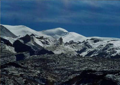 Secondary peaks in Mudztagh...