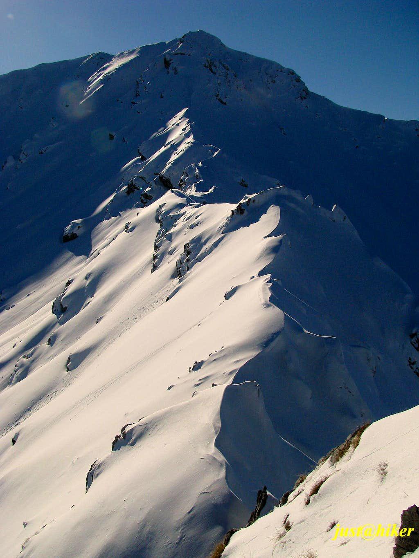 Ridge toward Vito peak