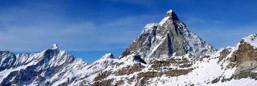 Matterhorn vu d'Italie