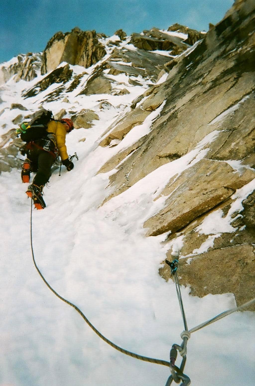 Mixed Climbing on SE Arete