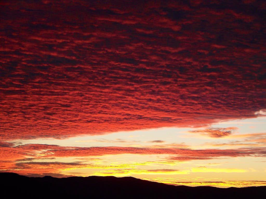 Sunset- Mt. Blue