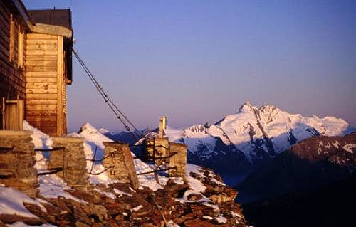sunrise at the Grossglockner....