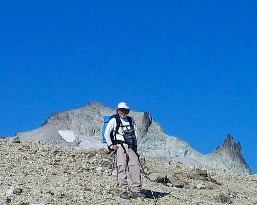 With Mt. Daniel's east peak...