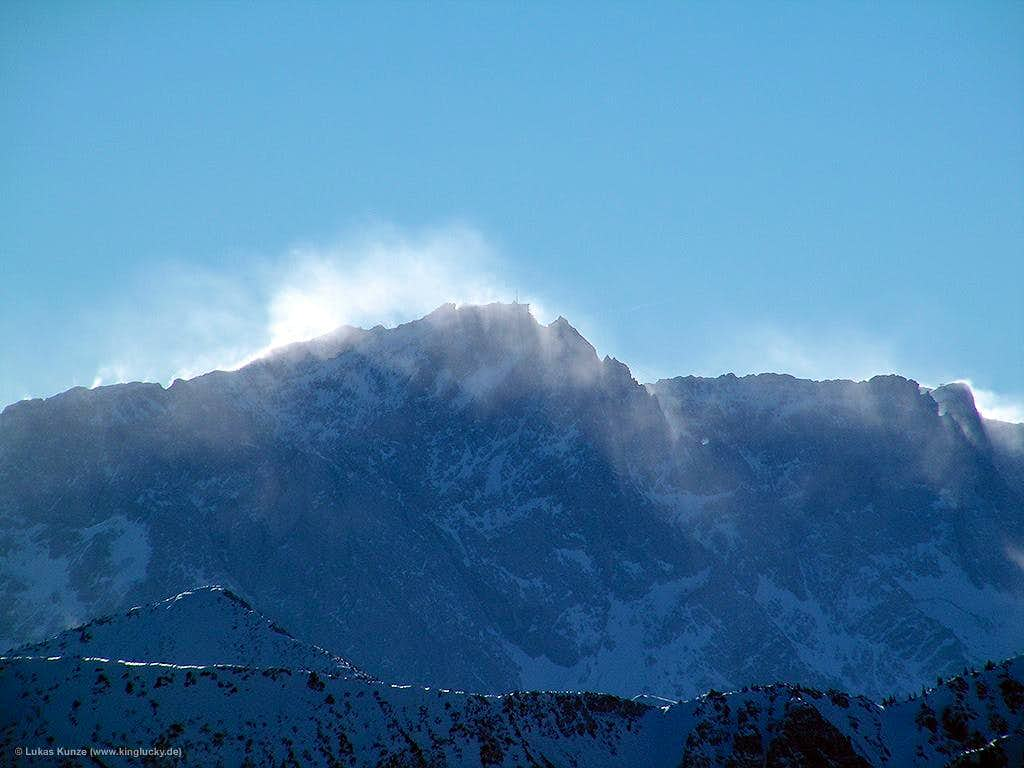 Snow within the air...