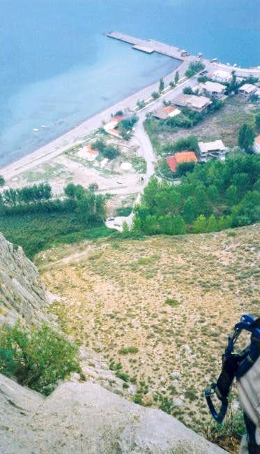 Bird's eye view of Kryoneri...