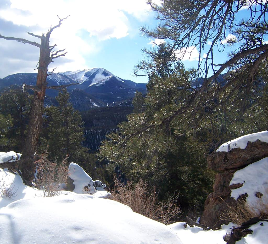 Almagre from Mt Manitou