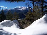 Pikes Peak from Mount Manitou