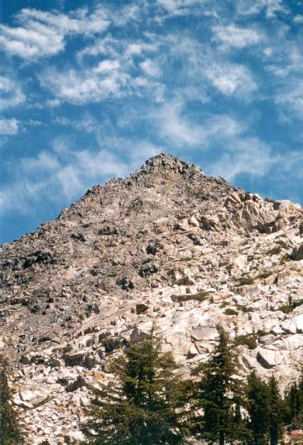 Southwest face of Peak 10431