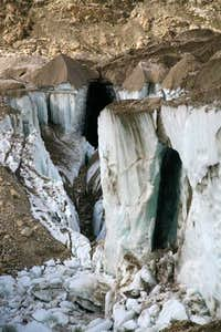 Crevasses at Baltoro Glacier