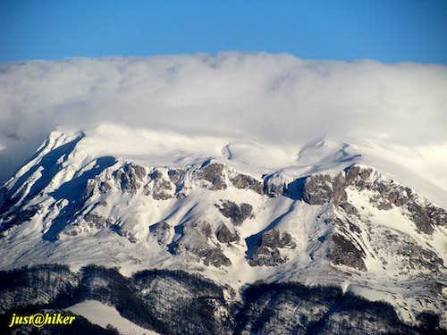 Treskavica mountain (2.086m)