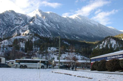 Mountains over Lillooet