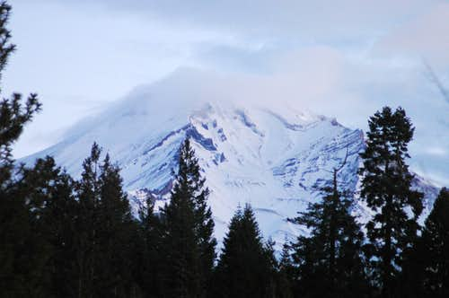 Mount Shasta close