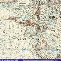 Scafell Map