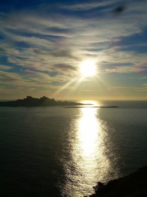 Sunset at Sormiou