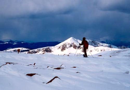 On the summit of Flattop...