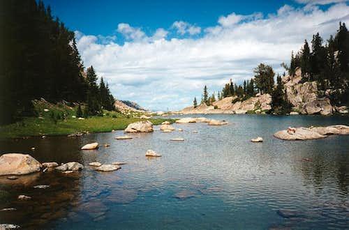 Tarn above Doc's Lake