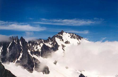 Mt. Buckner from Sahale Arm...