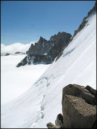 North Face of the Tete Blanche