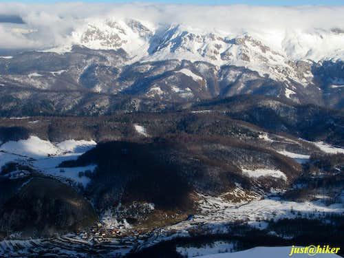 Treskavica massif