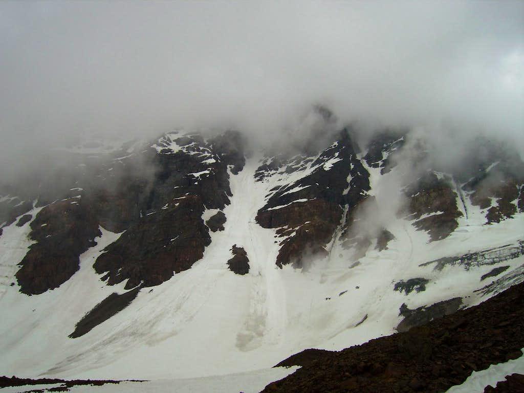 Entrance to Supercanaleta (East Face) of Rincon