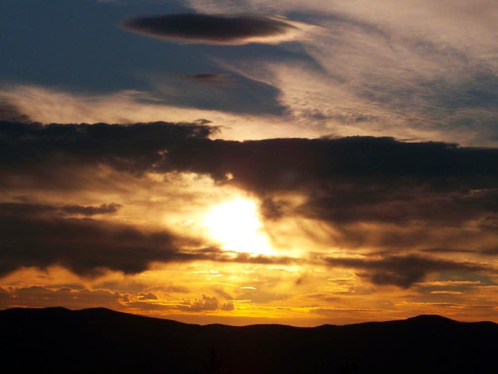 Sunset-Mt. Blue State Park