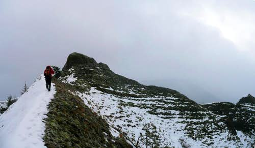 Approaching the summit...