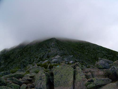 Coming off the Knife Edge- Mt. Katahdin