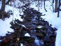Stream in Catskills