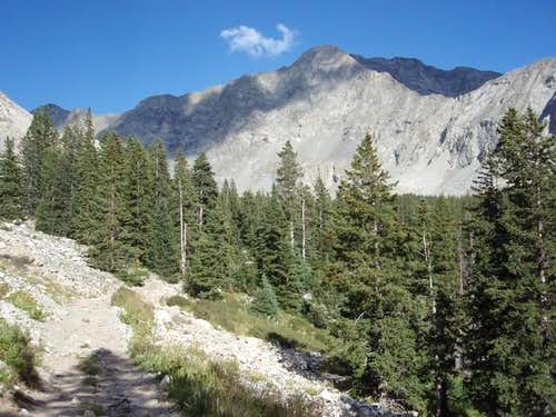 Little Bear Peak from Lake Como